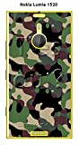 ONOZO Camouflage Design Phone Case Nokia Lumia 1520