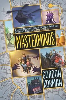 By Gordon Korman Masterminds  Hardcover  February 3 2015