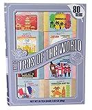 Exotic Teas of The World Gift Set, 80 Tea Bags, 8...