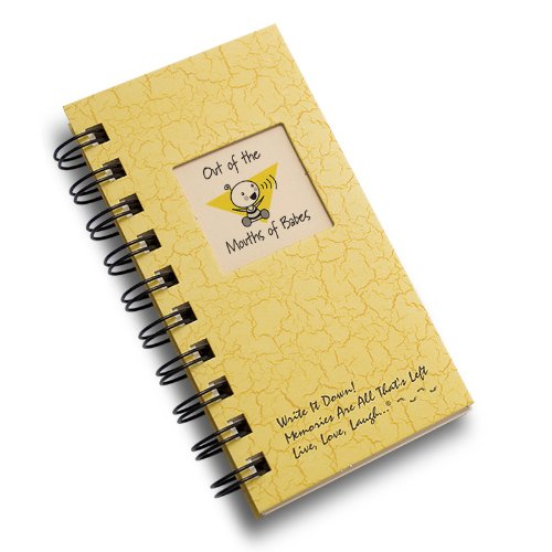 Out of the Mouths of Babes - MINI Buttercup Hard Cover (prompts on every page, recycled paper, read more...)