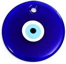 Perlin Nazar Boncuk Boncugu D/écoration Murale en Forme de c/œur Turquoise//Bleu 18 cm