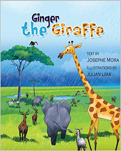 Children's Book  : Ginger The Giraffe: Children's Story