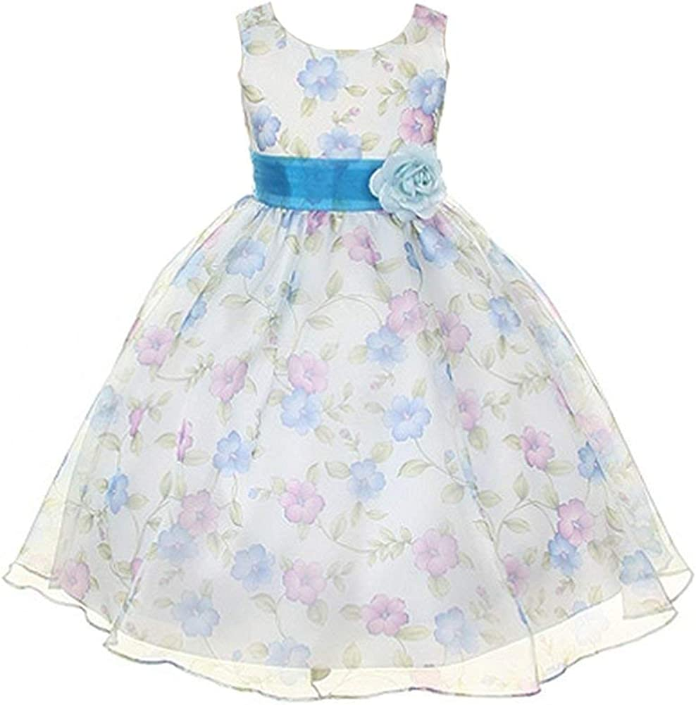 Kids Dream Girls Max 40% OFF Organza Special Popular product Floral Occasion Dress