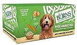 Burns Pet Natural Nutrition Adult & Senior Wet Dog Food Free Range Egg, Carrots & Organic Brown Rice 12 x 150gm