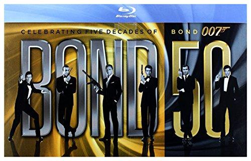 007 James Bond: PeĹna Kolekcja 23 filmy [BOX] [23Blu-Ray] (Nessuna versione italiana)