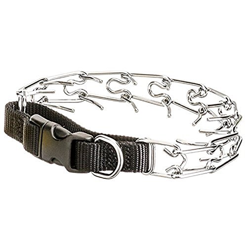 "Coastal Pet Titan 18"" Prong Collar with Nylon Closure - Includes 10 Helpful Tips For Using a Prong Collar"