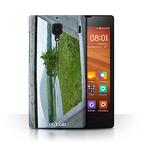 Stuff4 telefoonhoesje/hoes voor Xiaomi Redmi/hek/Lake Design/Scottish Landscape Collection