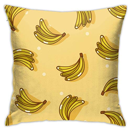Moily Fayshow Banana 40 X 40 Cm Cushion Case European Throw Pillow Cover Decorative Pillow