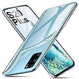 ivencase Cover per Samsung Galaxy S20 Plus Trasparente, Custodie Crystal Ultra Thin Morbido Silicone...