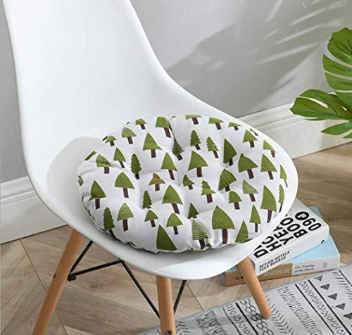 Homeyuser - 2 cuscini imbottiti per sedia e sedie, rotondi, per sala da pranzo, giardino, cucina,...