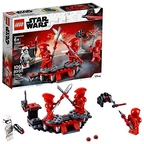LEGO Star Wars 75225 The Last Jedi Elite Praetorian Guard Battle Building Kit