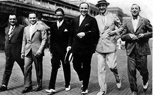 Al Capone with his gang Photo Print (10 x 8)