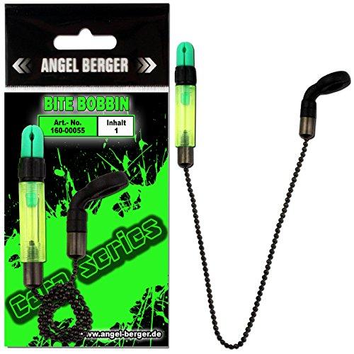 Angel-Berger Carp Series Bite Bobbin Indicator Bissanzeiger (Grün)