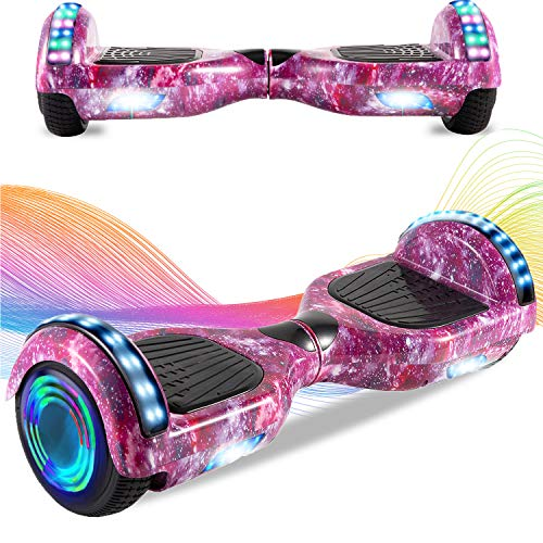 HappyBoard 6,5 Zoll Self Balance Board, Elektro Skateboard Elektroroller, Smart Self- Balancing Scooter Räder mit...