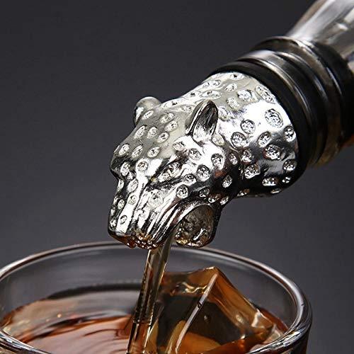 Edelstahl-Alkohol-Ausgießer Einzigartige Weinkorken Wein Aufblasbare Stick Tool (Size : 2)