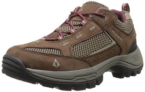 Vasque Women's Breeze 2.0 Low Gore-Tex Hiking Shoe, Slate Brown/Red Mahogany,7.5 M US