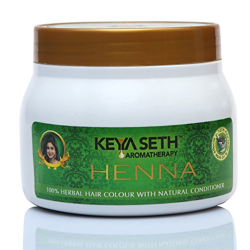 Keya Seth Aromatherapy 100% Hair Colour with Natural Conditioner Henna 200gm