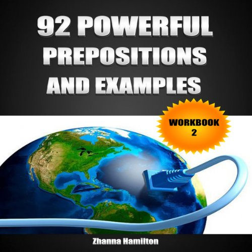 92 Powerful Prepositions and Examples audiobook cover art