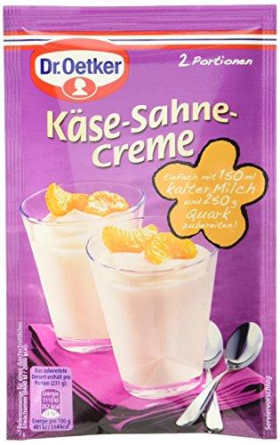 Dr. Oetker Käse-Sahne-Creme, 11er Pack (11 x 63 g)