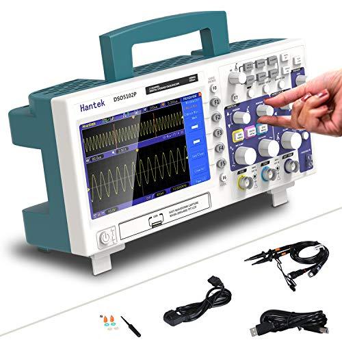 Osciloscopio de almacenamiento digital Dso5102p 100MHz 2 canales 1GSa / s Longitud de registro 40K Osciloscopio de mano USB