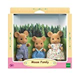 Sylvanian Families 5128 Maus Familie Spielzeug, Mehrfarbig -