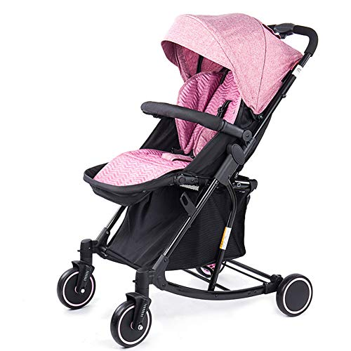 Thole Poussette pour SièGe D'Auto Transformable Grow and Go 3-en-1 Safety 1st (pour Les 0-3 Ans),Pink