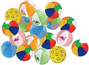 Kangaroos 8 Beach Balls, (25-Pack); Summer Birthday Party Favors