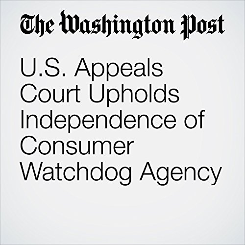 U.S. Appeals Court Upholds Independence of Consumer Watchdog Agency copertina