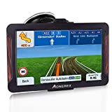 SAT NAV, Aonerex GPS Navigation System 7 inch Touch Screen Pre-Installed 2020 Europe