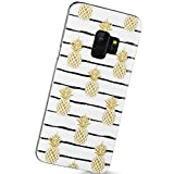 VIVIBIN Samsung Galaxy S9 Case Pineapples Design,Slim-Fit Scratch Resistant Shock Proof Flexible Glossy Soft Phone Case Cover for Galaxy S9 [5.8'](2018)