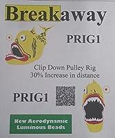 Breakaway PRIG1 Clip Down Circle Pulley Rig, Size 12/0 [並行輸入品]