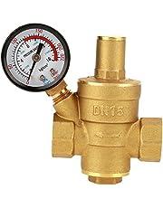FTVOGUE DN15 druk reducerende klep messing waterdrukregelaar reducer met meter