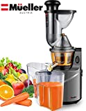 Mueller Austria Ultra Juicer Machine Extractor with Slow Cold Press Masticating Squeezer Mechanism...