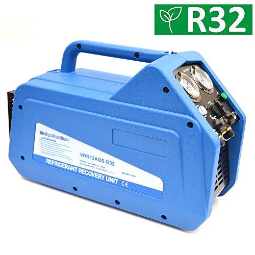 NEU Kältemittelabsauggerät VRR12A Absauggerät für Kältemittel R410A R134A R32