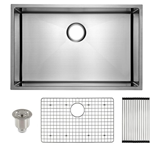 FRIGIDAIRE Undermount Stainless Steel Kitchen Sink, 16 Gauge,...