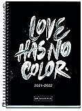 Miquelrius Agenda Escolar 2021-2022 - Tamaño PLUS 15 x 21,3 cm, Semana Vista, Teen Color Love, Idioma Catalán