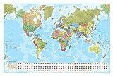 World Political Map (laminated/tube)