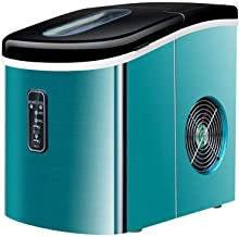 Machine à glaçons Comptoir machine à glaçons machine portable compacte électrique à haute efficacité glace Express Machine...