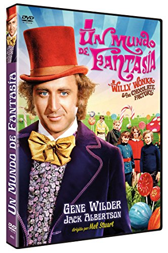 Un Mundo de Fantasía DVD 1971 Willy Wonka and the Chocolate Factory
