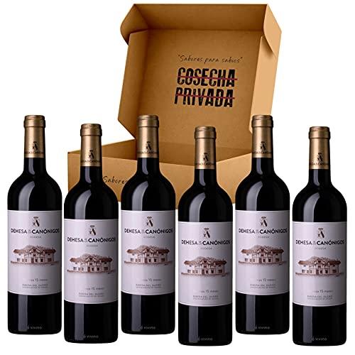 Dehesa de los Canónigos - Envío Gratis 24 H - 6 Botellas - Vino Tinto - Ribera del Duero - Enviado y seleccionado por Cosecha Privada