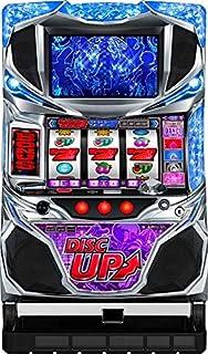 【パチスロ実機】 パチスロ ディスクアップ 【紫パネル】フルセット コイン不要機付