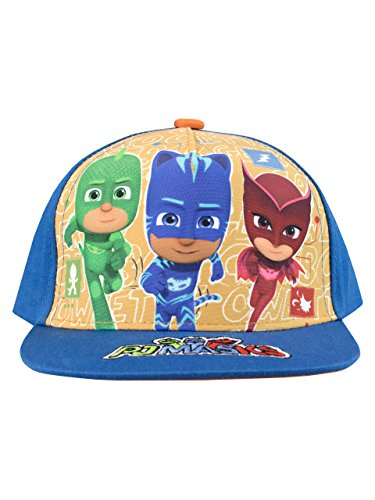 Price comparison product image PJ Masks Boys' Catboy Owlette Gecko Baseball Cap One Size