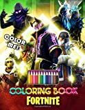Color Me! Fortnite Coloring Book: Coloring Pages for Kids and Adults Amazing Drawings: Characters , Weapons & Other