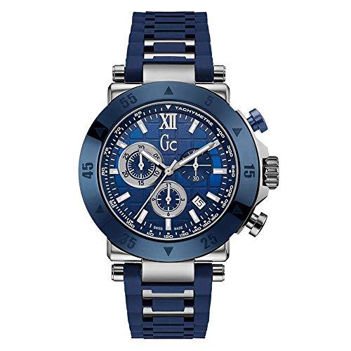 GC Sport Chic Collection Herren-Armbanduhr 44mm Blau Quarz X90025G7S