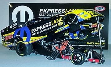 Auto World !! 2016 Matt Hagan Mopar EXPRESSLANE Dodge Charger RT Funny Car diecast 1/24th Scale Replica Don Schumacher Racing