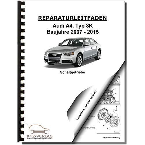 Audi A4 8K 2007-2015 6 Gang Schaltgetriebe 0B4 Kupplung Reparaturanleitung