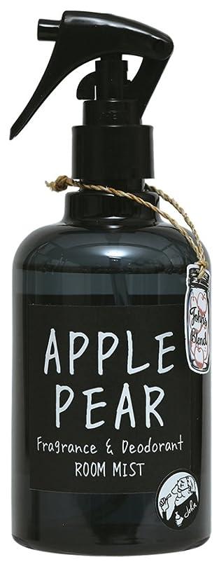 破滅値下げ旅行ノルコーポレーション John's Blend ルームフレグランス ルームミスト 消臭成分配合 OA-JON-2-4 スプレー?ミスト アップルペアーの香り 280ml