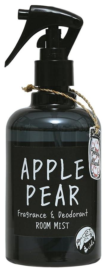 温度ぼろ戻るノルコーポレーション John's Blend ルームフレグランス ルームミスト 消臭成分配合 OA-JON-2-4 スプレー?ミスト アップルペアーの香り 280ml