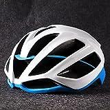 cnmd Fahrradhelm für Herren mit Mountainbike-Helm weiß