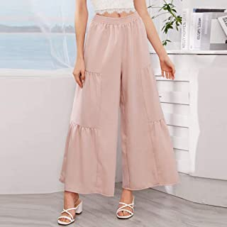 Summer Ladies Shorts Loose Casual Woman Wide Leg Plus Size Hot Tribal Solid Color Wide Leg